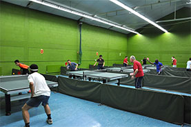 Graham Spicer Intitute Table Tennis Hall